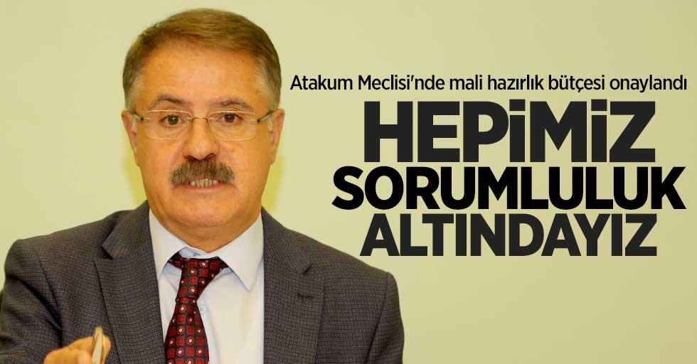 Cemil Deveci: Hepimiz sorumluluk altındayız