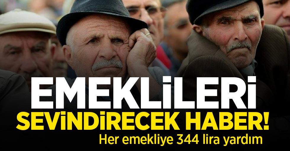 Emeklileri sevindirecek haber! Her emekliye 344 lira aile yardımı