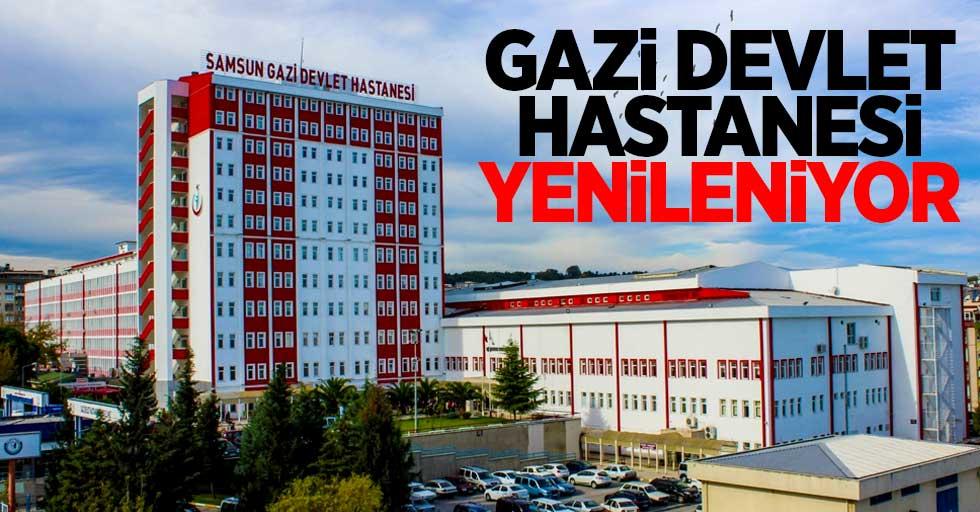 Gazi Devlet Hastanesi yenileniyor