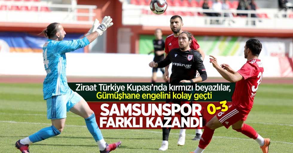 Samsunspor farklı kazandı! Maç sonucu Gümüşhanespor 0-3 Samsunspor