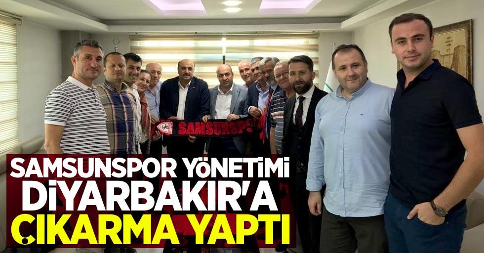 Samsunspor yönetimiDiyarbakır'a çıkarma yaptı