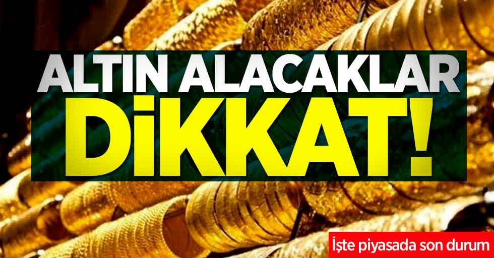 Altın piyasasında son durum! 9 Kasım Cumartesi altında fiyatları