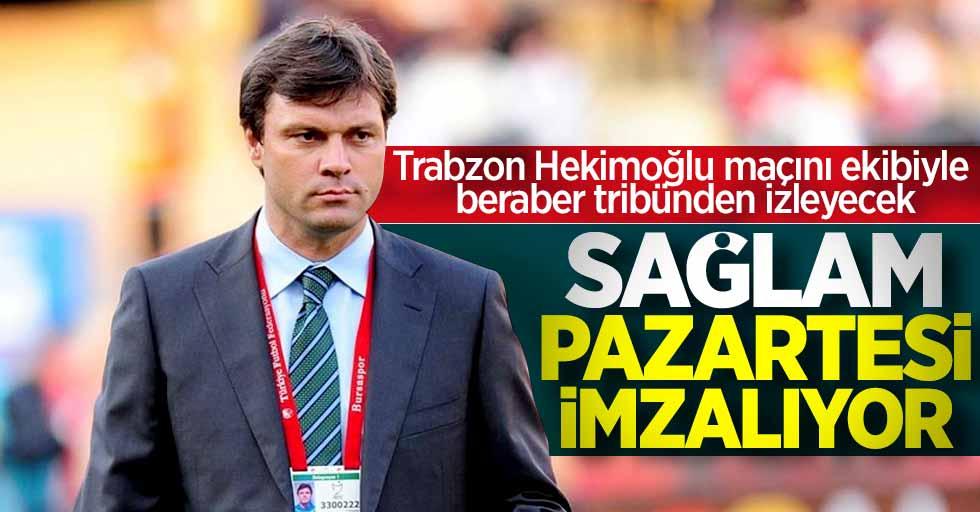 Ertuğrul Sağlam pazartesi Samsunspor ile imzalıyor! Hekimoğlu maçını ekibiyle tribünden izleyecek