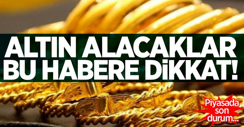 Altın piyasasında son durum! 2 Aralık Pazartesi altın fiyatları