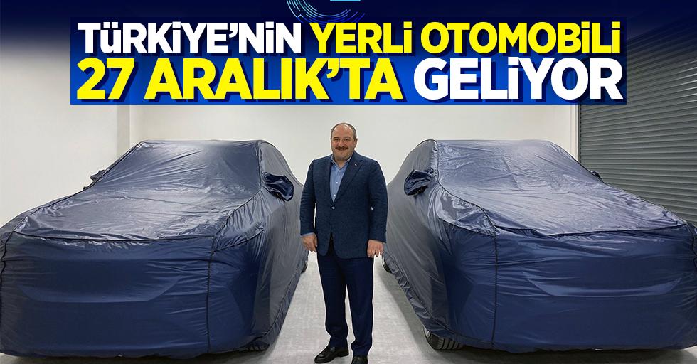 Türkiye'nin yerli otomobili 27 Aralık'ta geliyor
