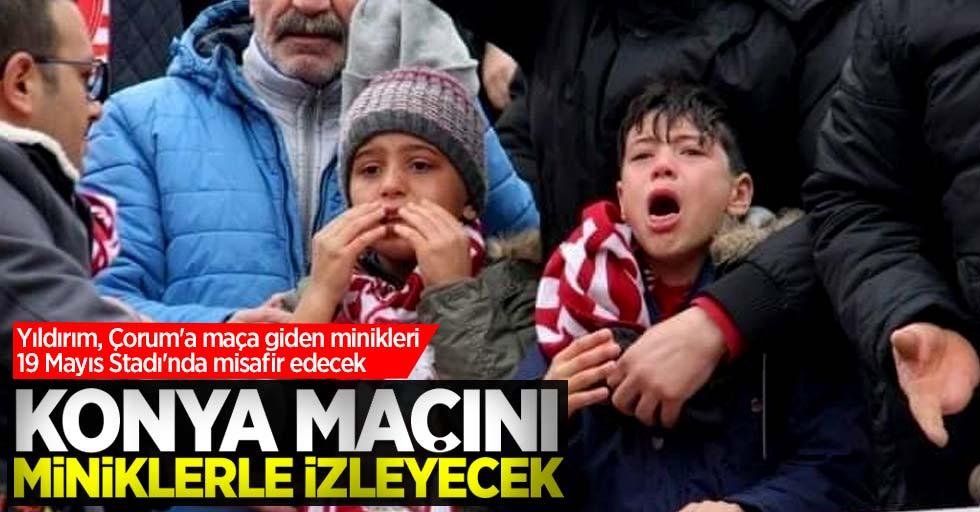 Yıldırım, Çorum'a maça giden minikleri 19 Mayıs Stadı'nda misafir edecek!