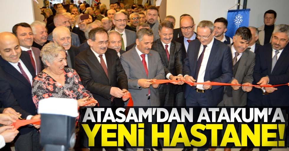 Atasam'dan Atakum'a yeni hastane!