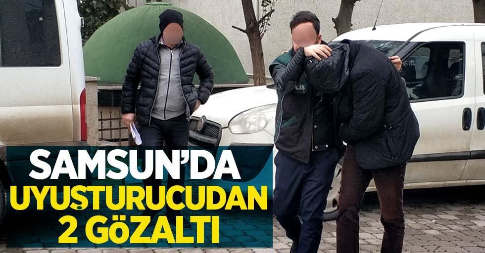 Samsun'da uyuşturucudan 2 gözaltı