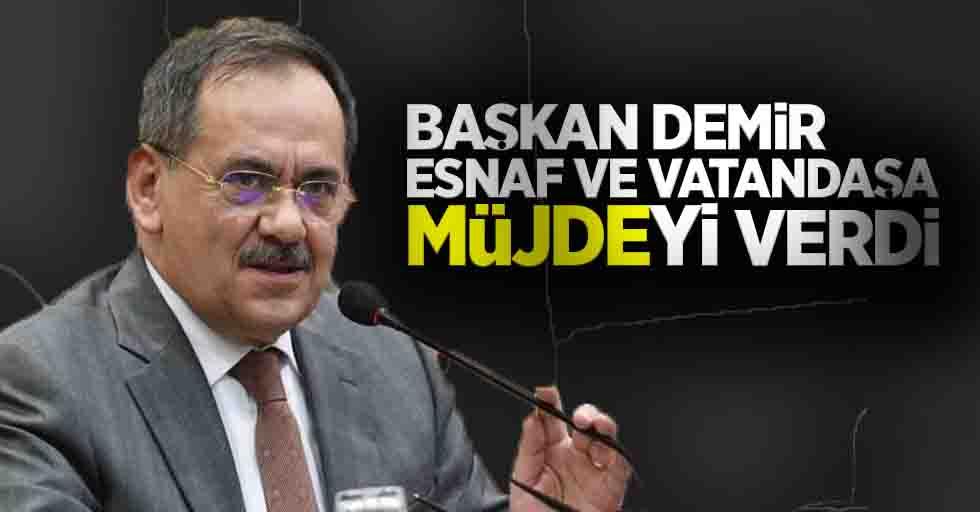 Başkan Demir'den müjde