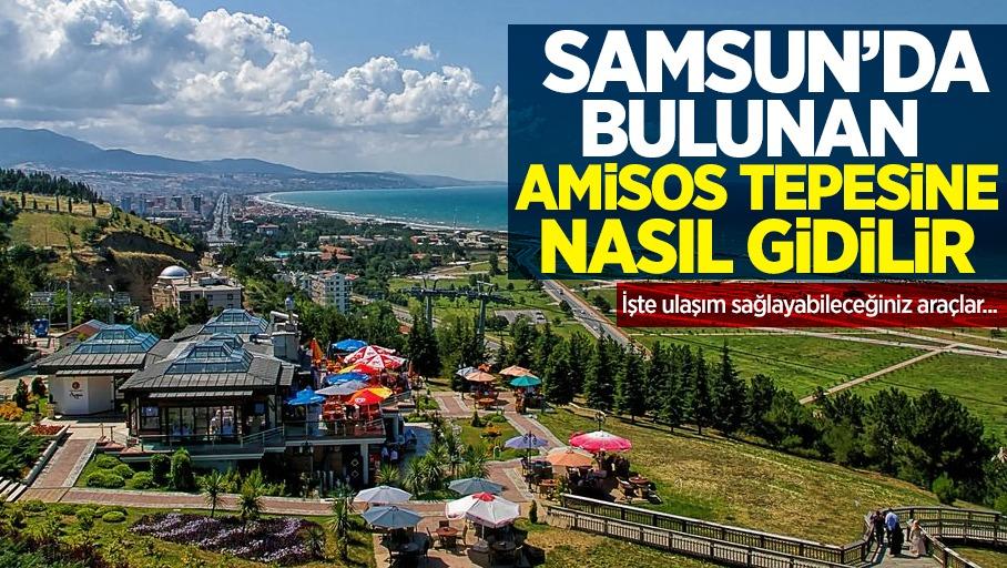 Samsun'da bulunan Amisos Tepesine nerede, nasıl gidilir?