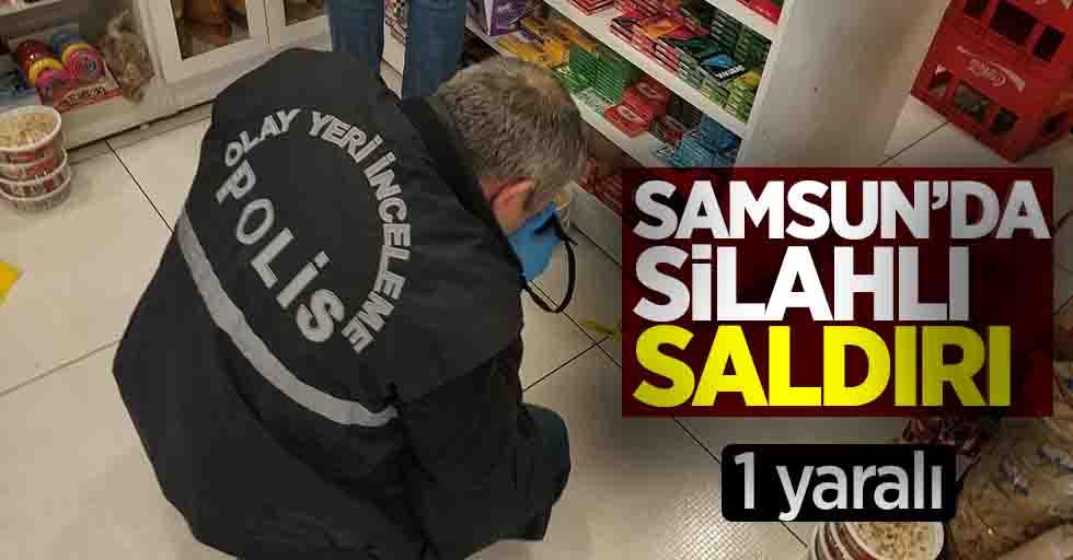 Samsun'da silahlı saldırı 1 yaralı