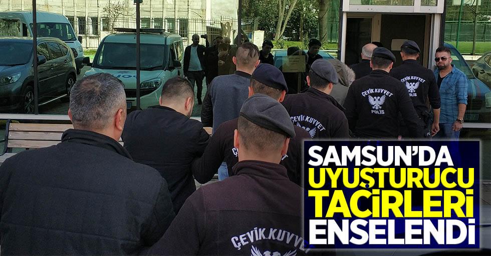 Samsun'da uyuşturucu tacirleri enselendi