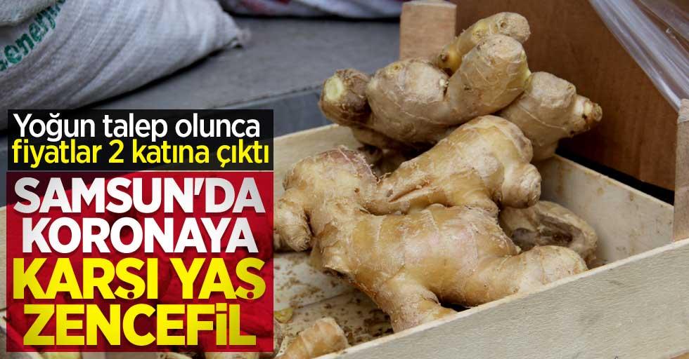 Samsun'da vatandaşlar yaş zencefile yöneldi! Fiyatlar 2 katına çıktı