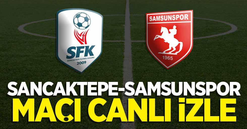 Sancaktepe-Samsunspor maçı canlı izle! Burada.tv Samsunspor maçı izle