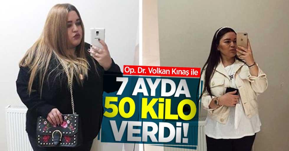 Op. Dr. Volkan Kınaş ile 7 ayda 50 kilo verdi!
