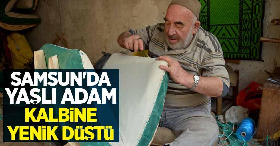 Samsun'da yaşlı adam kalbine yenik düştü