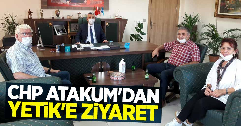 CHP Atakum'dan Tekin'e ziyaret