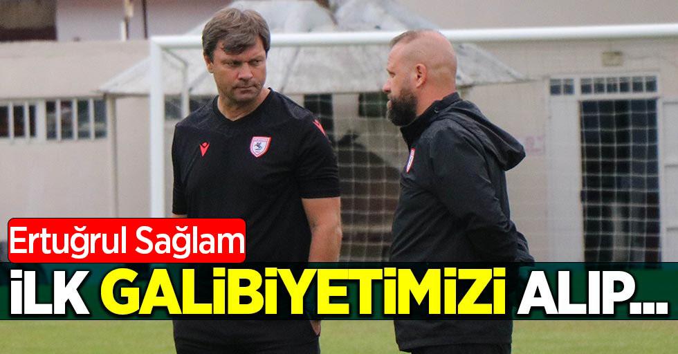 """Ertuğrul Sağlam: """"İlk galibiyetimizi alıp..."""""""