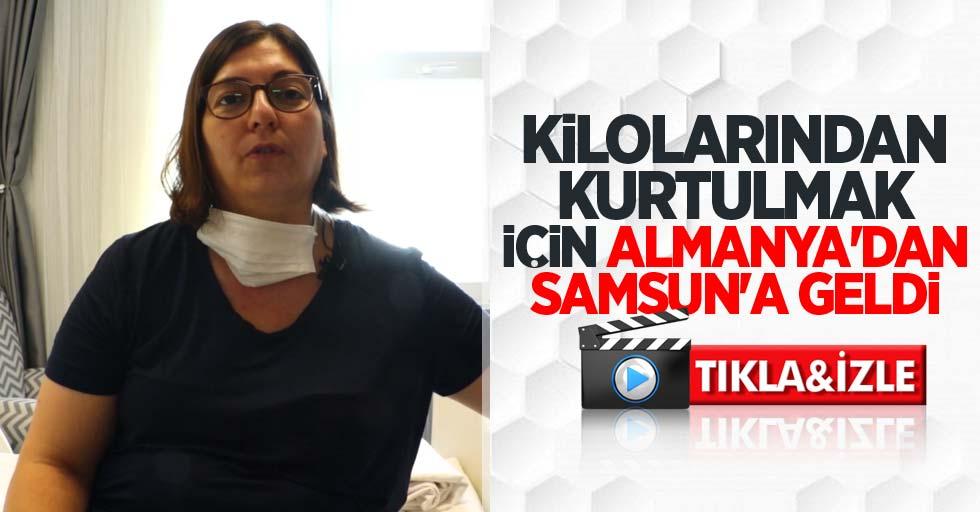 Kilolarından kurtulmak için Almanya'dan Samsun'a geldi! Op. Dr. Kınaş'a başvurdu