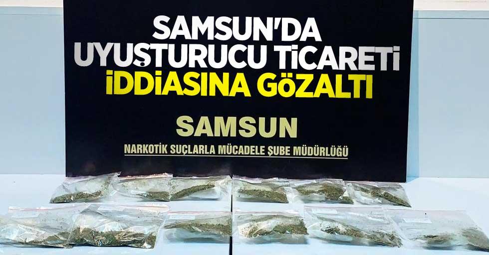 Samsun'da uyuşturucu ticareti iddiasına gözaltı
