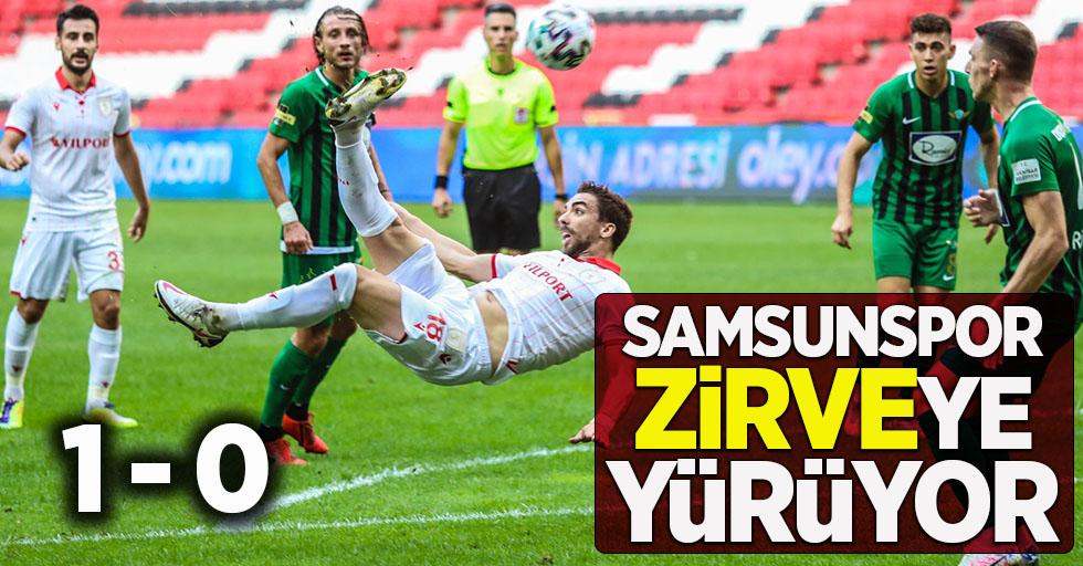 Samsunspor zirveye yürüyor 1-0