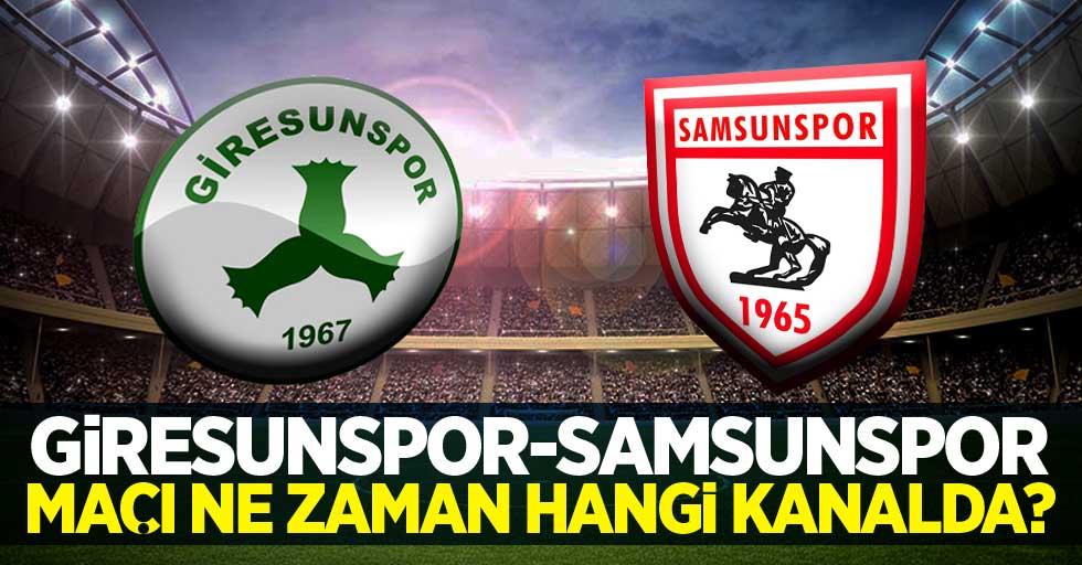 Giresunspor – Samsunspor Maçı Ne Zaman Hangi Kanalda?