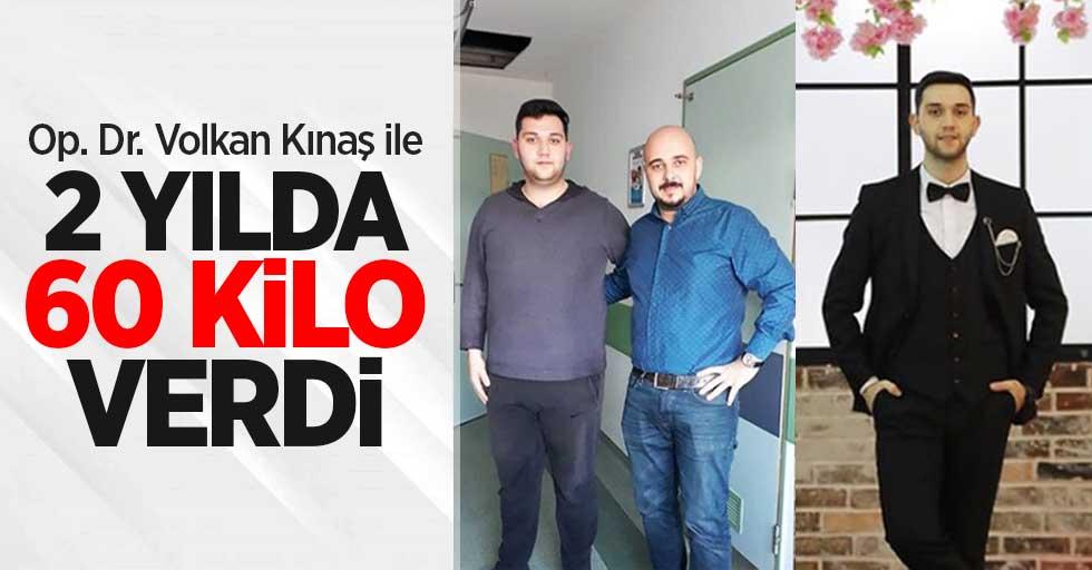 Op. Dr. Volkan Kınaş ile 2 yılda 60 kilo verdi