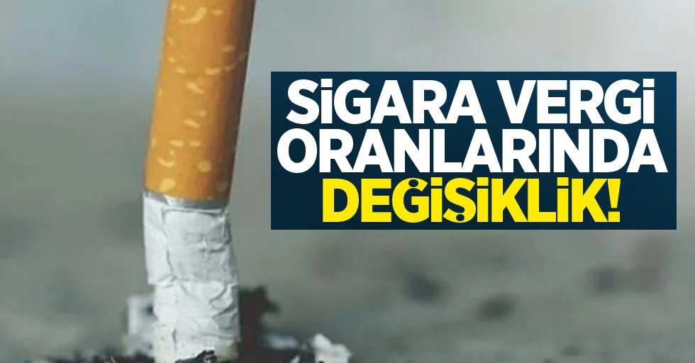 Sigara vergi oranlarında değişiklik!