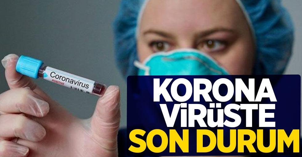 14 Ocak korona virüs tablosu açıklandı