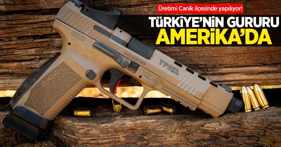 Canik ilçesinde üretiliyor! Türkiye'nin gururu Amerika'da