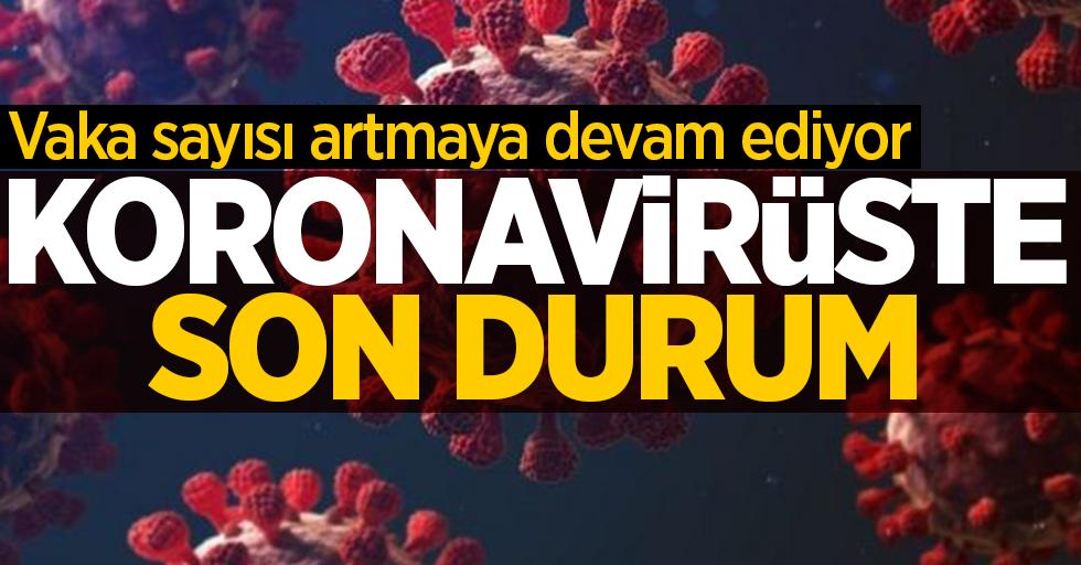 8 Mart korona virüs tablosu açıklandı