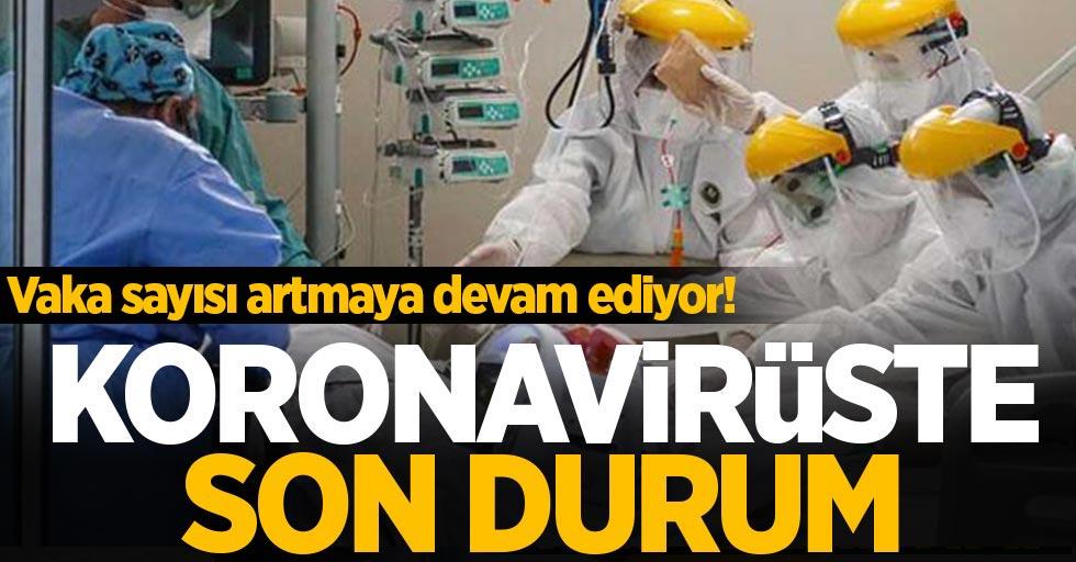 12 Nisan koronavirüs tablosu açıklandı