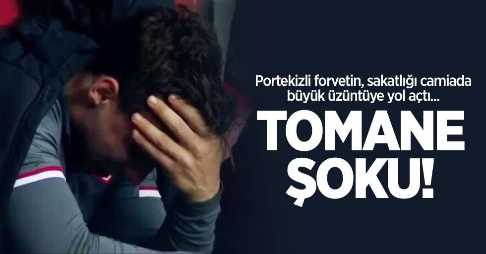 Portekizli forvetin, sakatlığı camiada büyük üzüntüye yol açtı... Tomane şoku