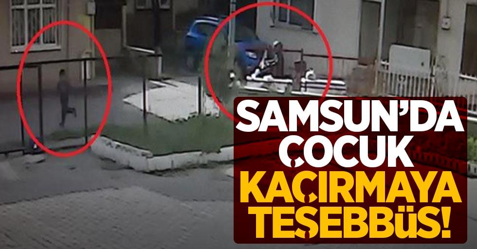 Samsun'da polisi harekete geçiren olay!