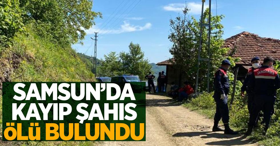 Samsun'da kayıp şahıs ölü bulundu