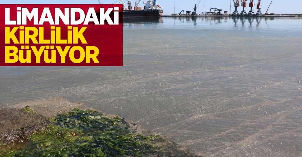 Samsun Limanı gün geçtikçe kirleniyor