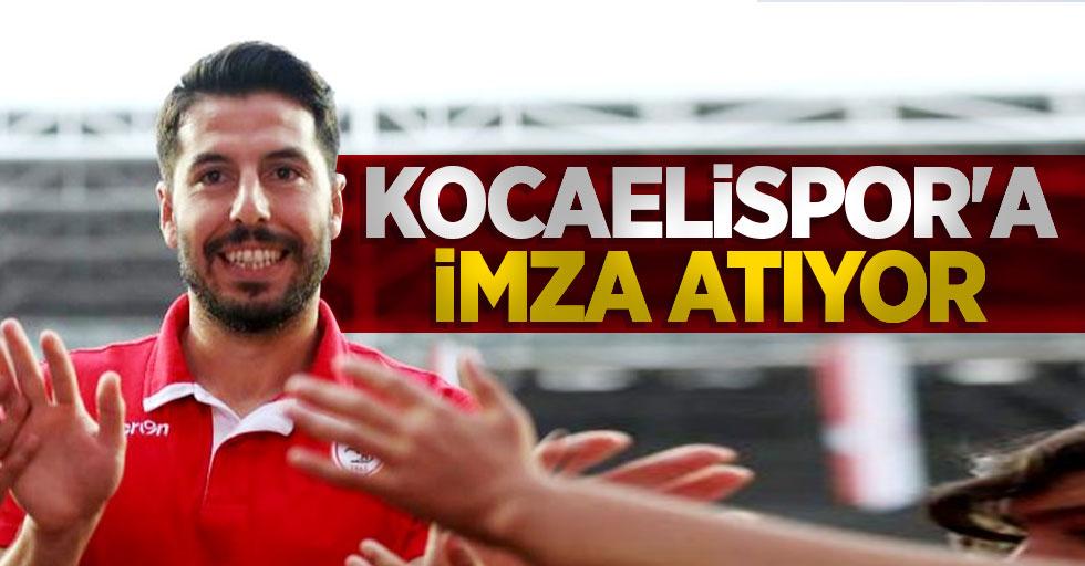 Erkam Reşmen Kocaelispor'aimza atıyor