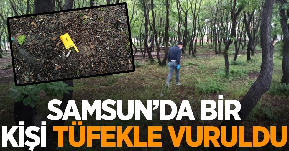 Samsun'da 1 kişi tüfekle vuruldu