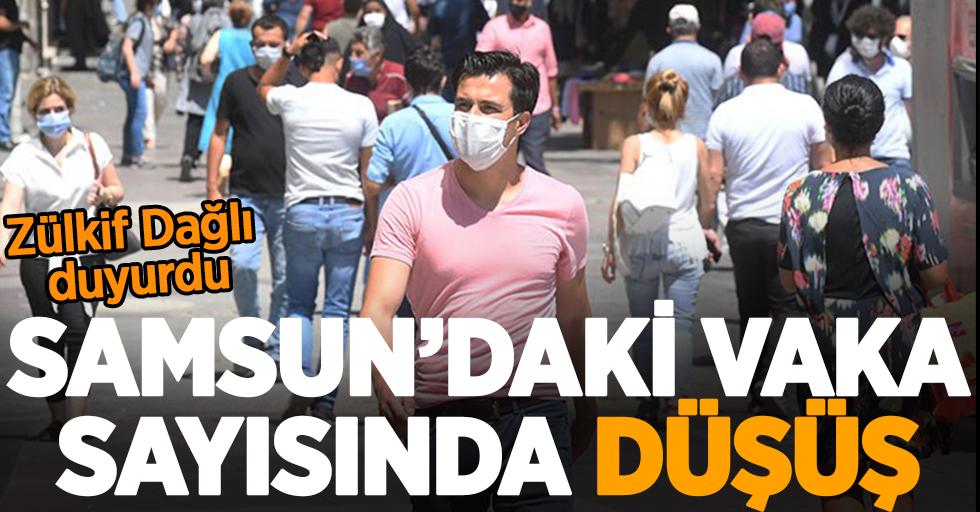 Samsun'daki vaka sayısında düşüş