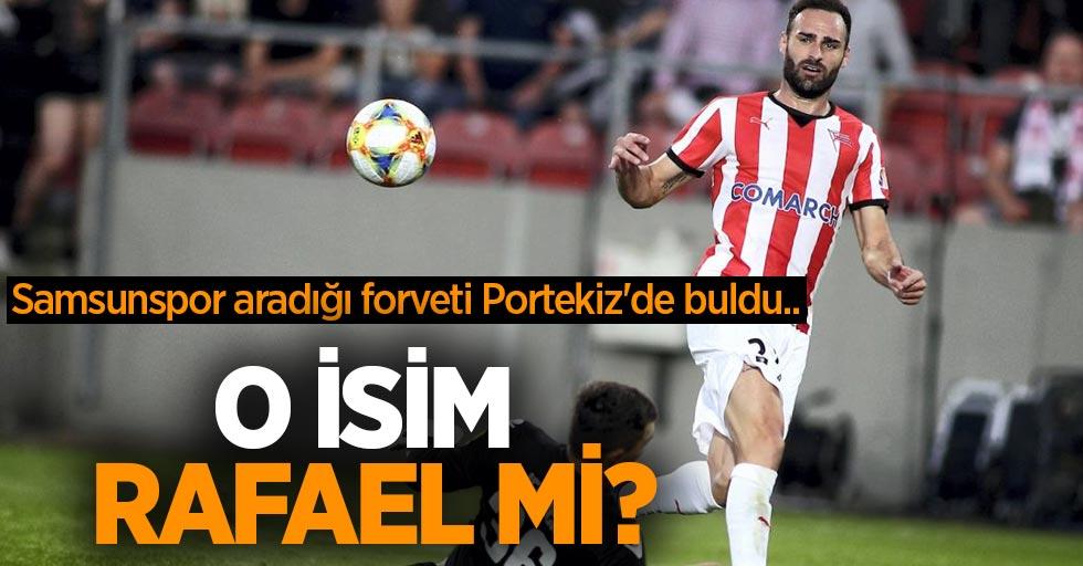 Samsunspor aradığı forveti Portekiz#039;de buldu...