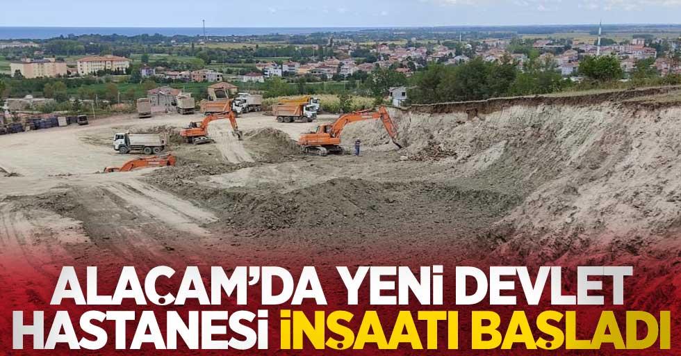 Alaçam'da yeni devlet hastanesi inşaatı başladı