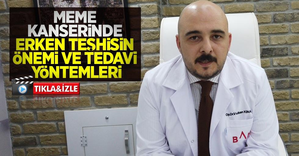 Meme kanseri tedavi yöntemleri nelerdir? Op. Dr. Volkan Kınaş bilgilendirdi