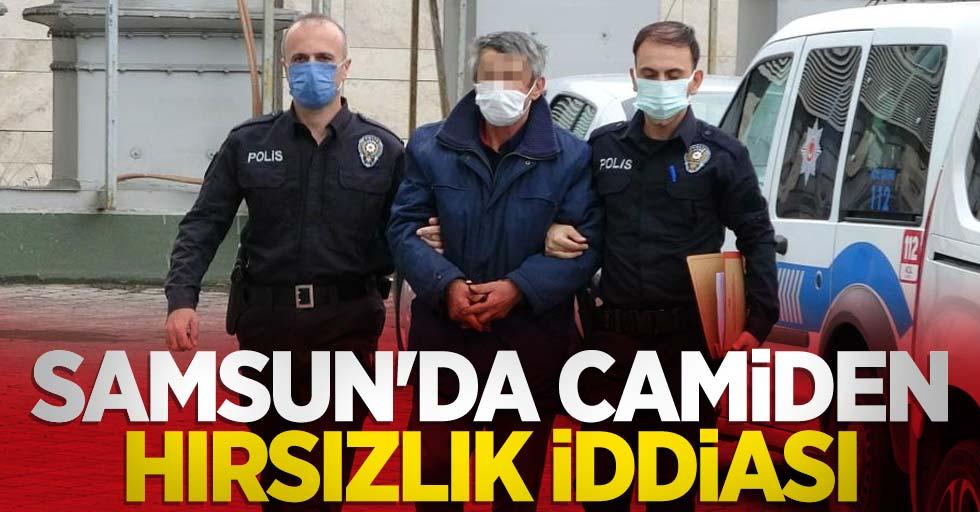 Samsun'da camiden hırsızlık iddiası