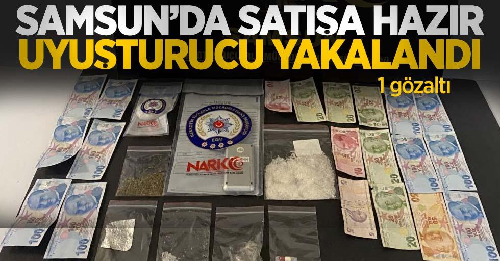 Samsun'da satışa hazır uyuşturucu yakalandı: 1 gözaltı
