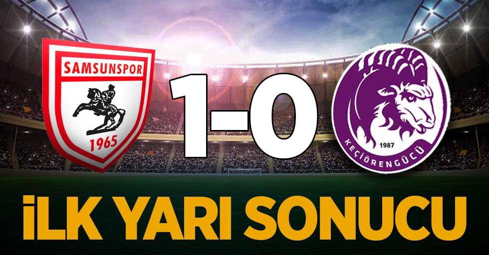 Y.Samsunspor 1 -Keçiörengücü 0 (İlk Yarı Sonucu)