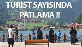 Doğu Karadeniz'de Turist Sayısında Artış