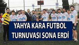 OMÜ Yahya Kara Futbol Turnuvası Sona Erdi