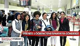 Piri Reis Mesleki ve Teknik Anadolu Lisesi Öğrencileri İspanya'da
