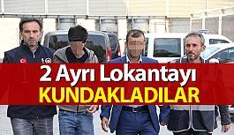 Restoran Kundaklama Zanlıları Tutuklandı