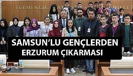 Samsun'lu Gençler Erzurum'da